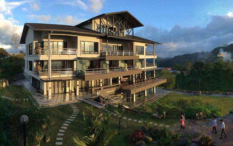 Kokol Haven Resort - hidden away high in the hills above KK