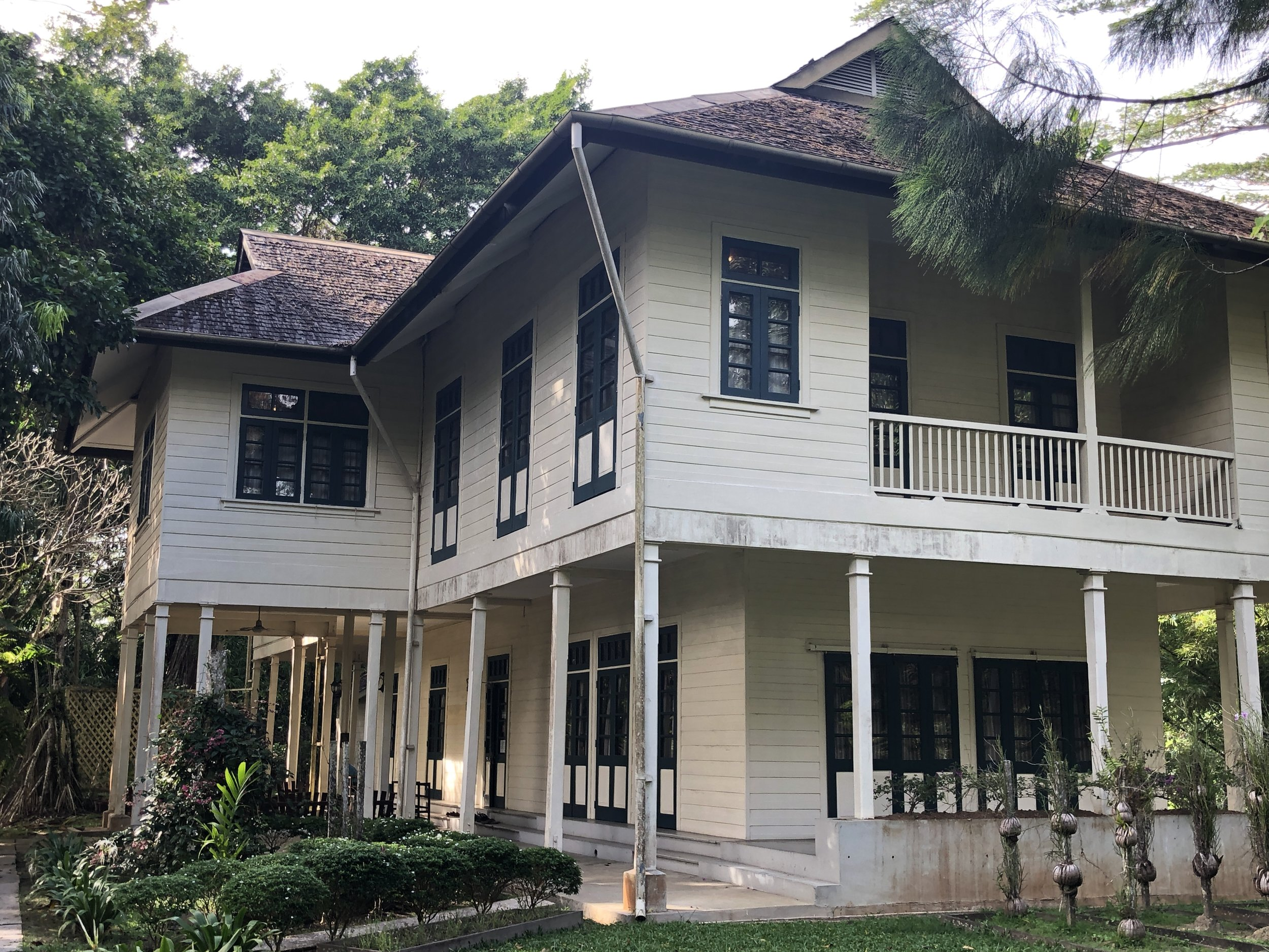 Agnes Keith's house in Sandakan: American author Agnes Keith wrote a series of books about her experiences living in post-war North Borneo