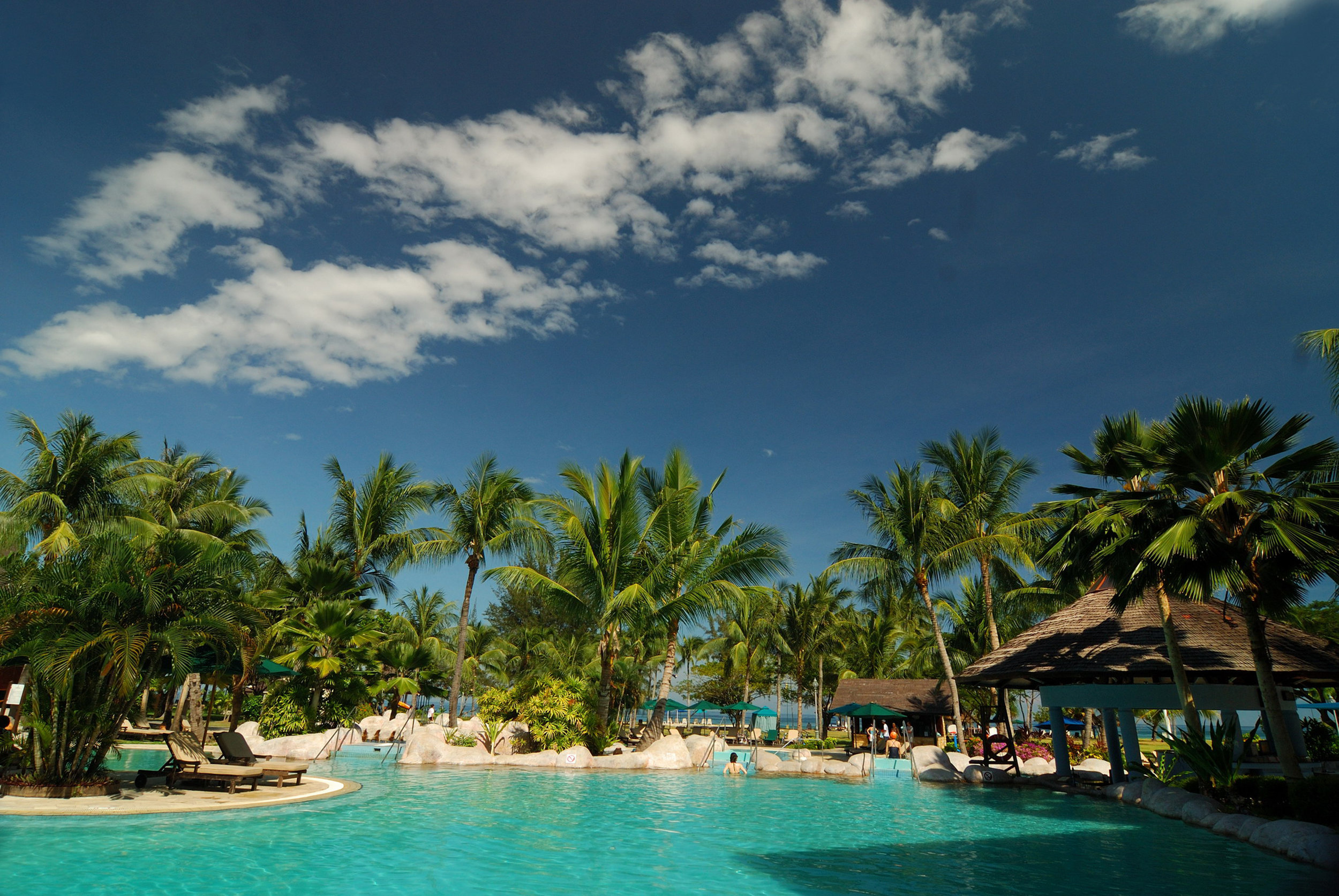 Which do you fancy? A relaxing soak in one of the Nexus Resorts many swimming pools...