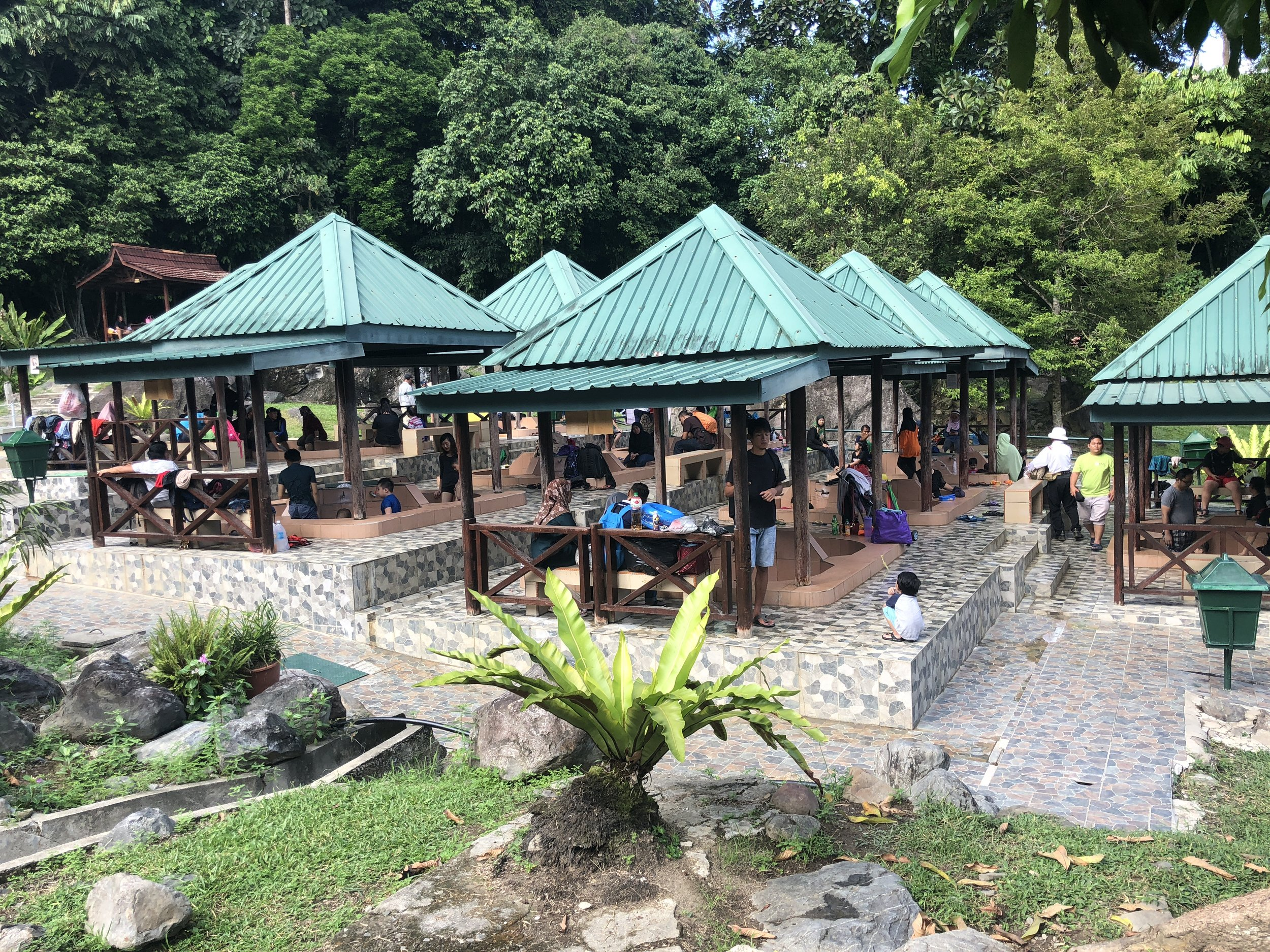 Enjoy a dip at Poring Hot Spring located in Kinabalu National Park