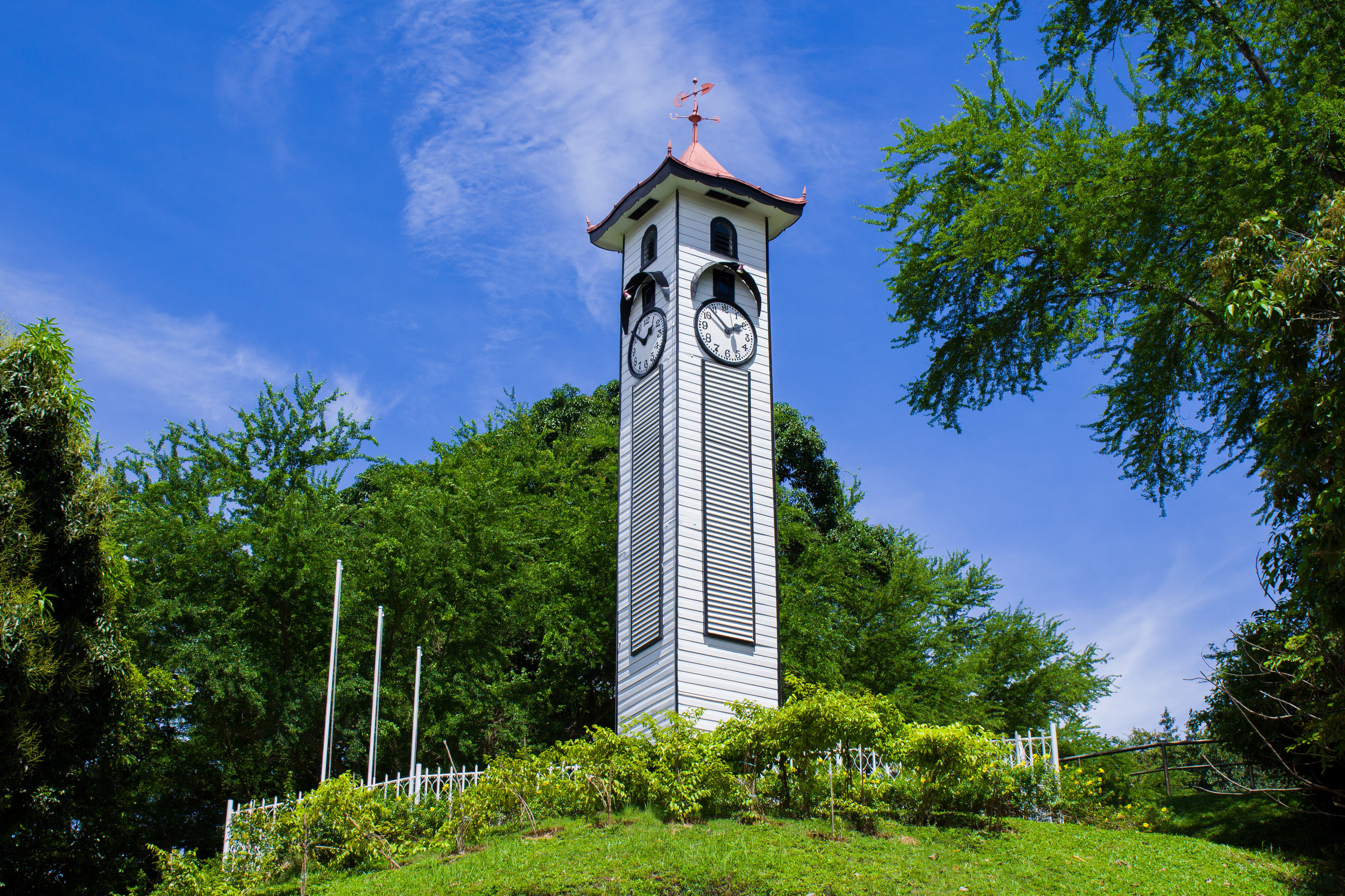 Atkinson Clock Tower is one of the oldest surviving buildings in KK