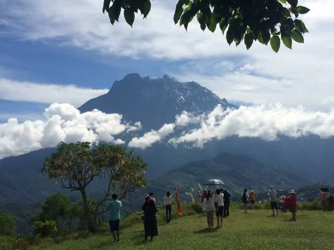 Mount Kinabalu (4095 metres) is the undisputed centre-piece of Kinabalu National Park