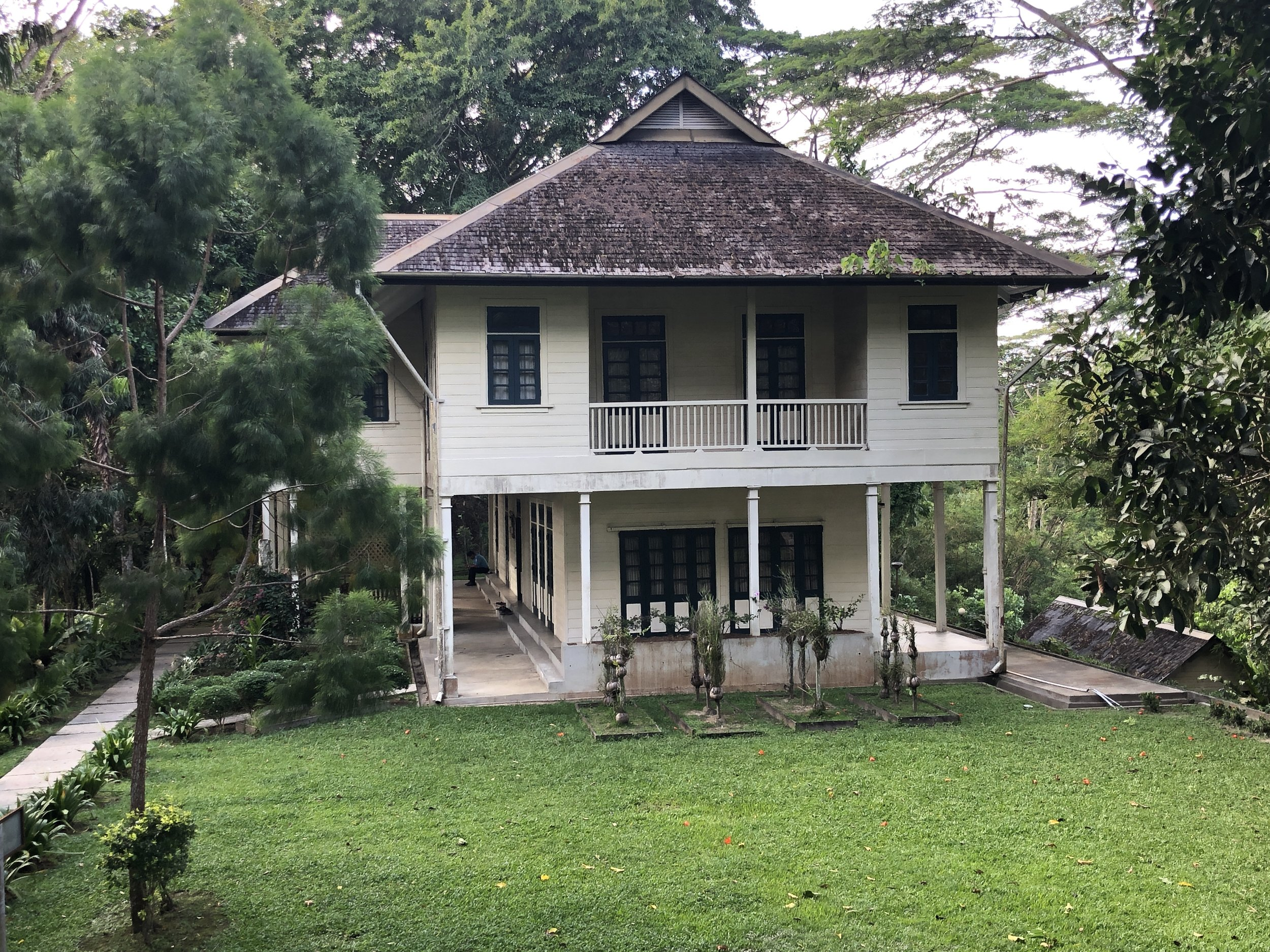 Agnes Keith House in Sandakan and the home where she wrote her trilogy of books about life in post-war colonial North Borneo