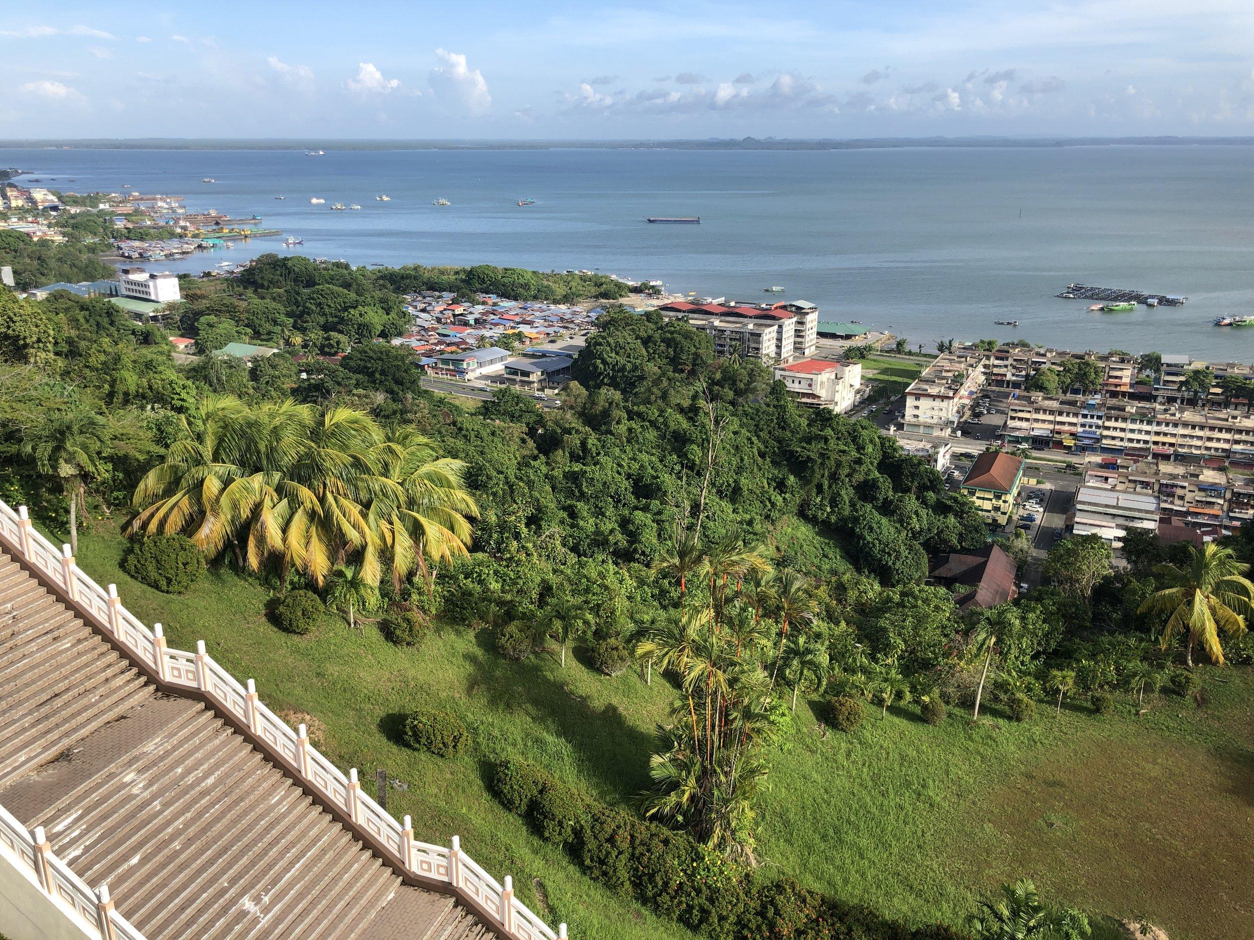 View of Sandakan city