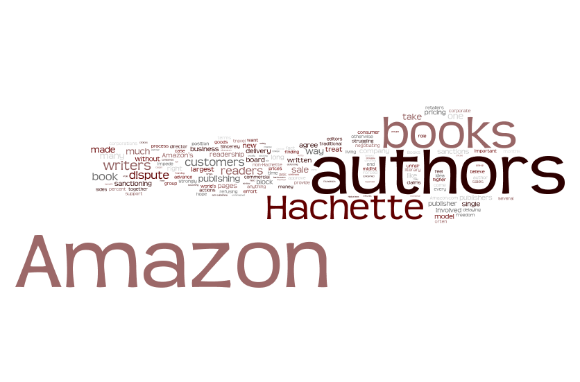 Wordle: Authors United Letters