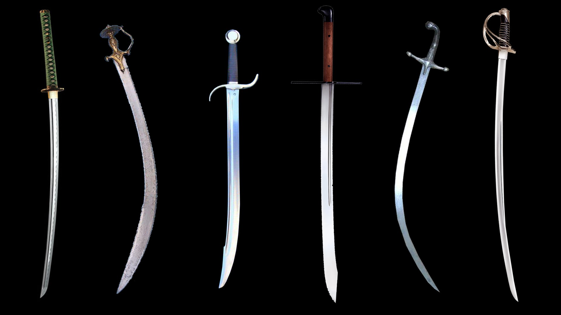 Cutting sword examples