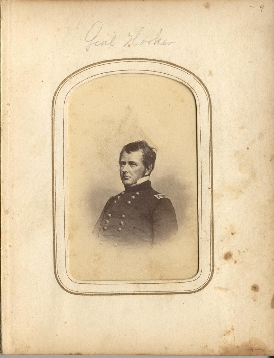 Gen. Joseph Hooker