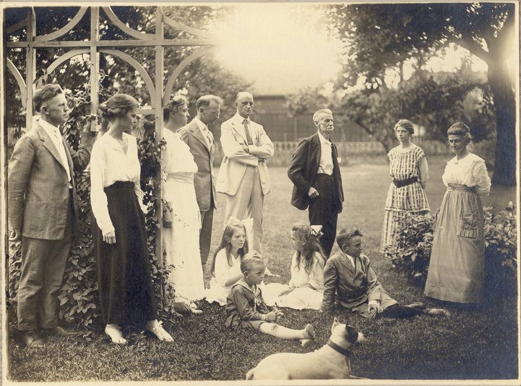 Family portrait, Holton, Kansas