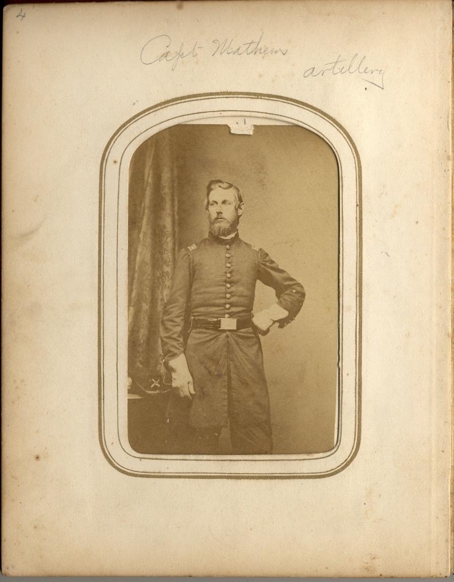 Artillery Captain Ezra Matthews