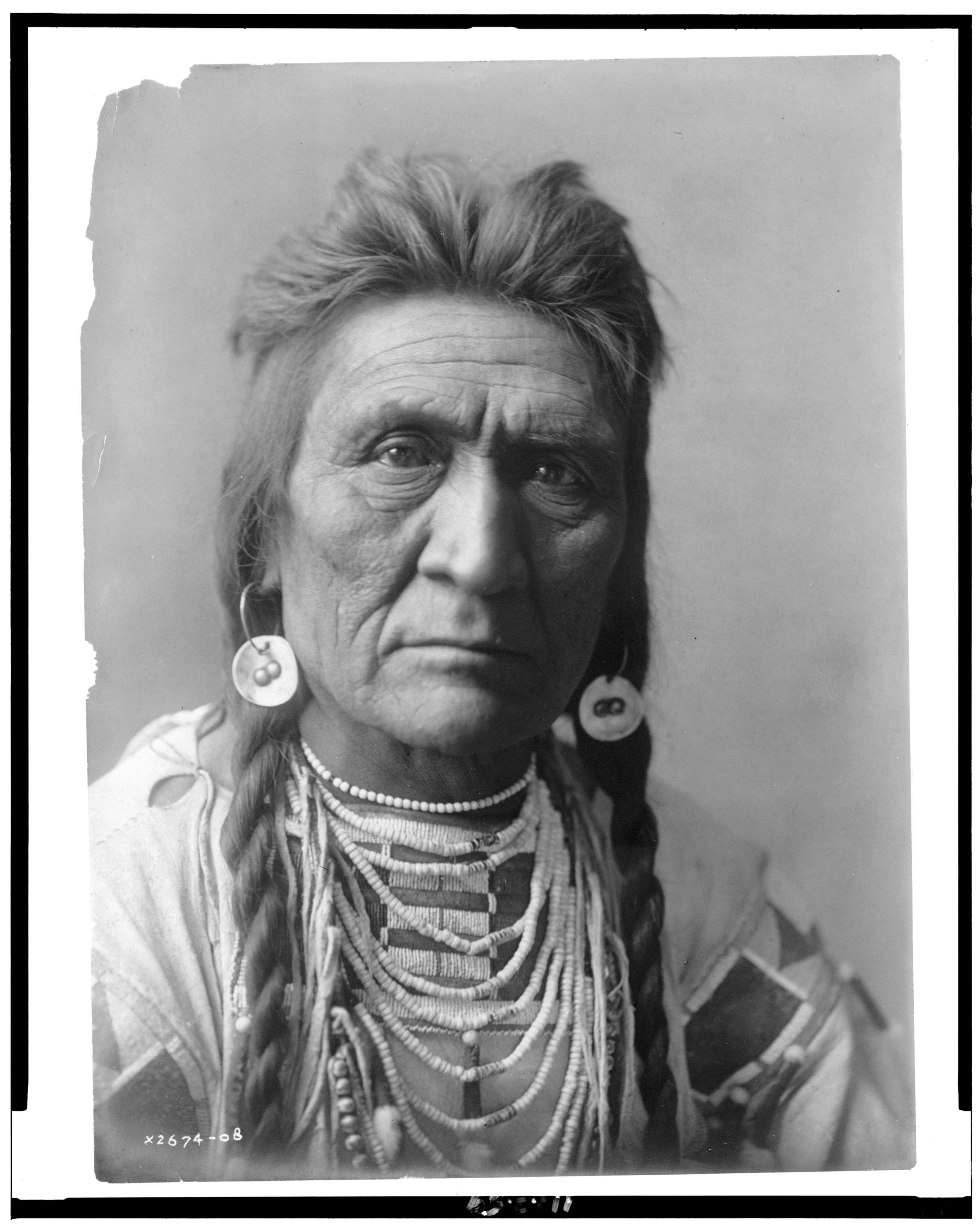 Absaroke (Crow) Chief