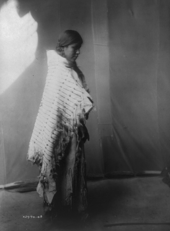 Unidentified Atsina (Gros Ventre) Woman