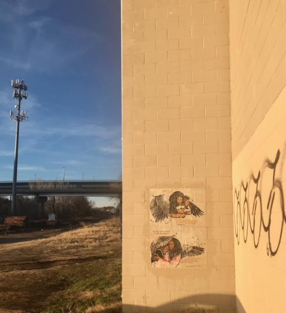 Along I-95 in Richmond, Virginia