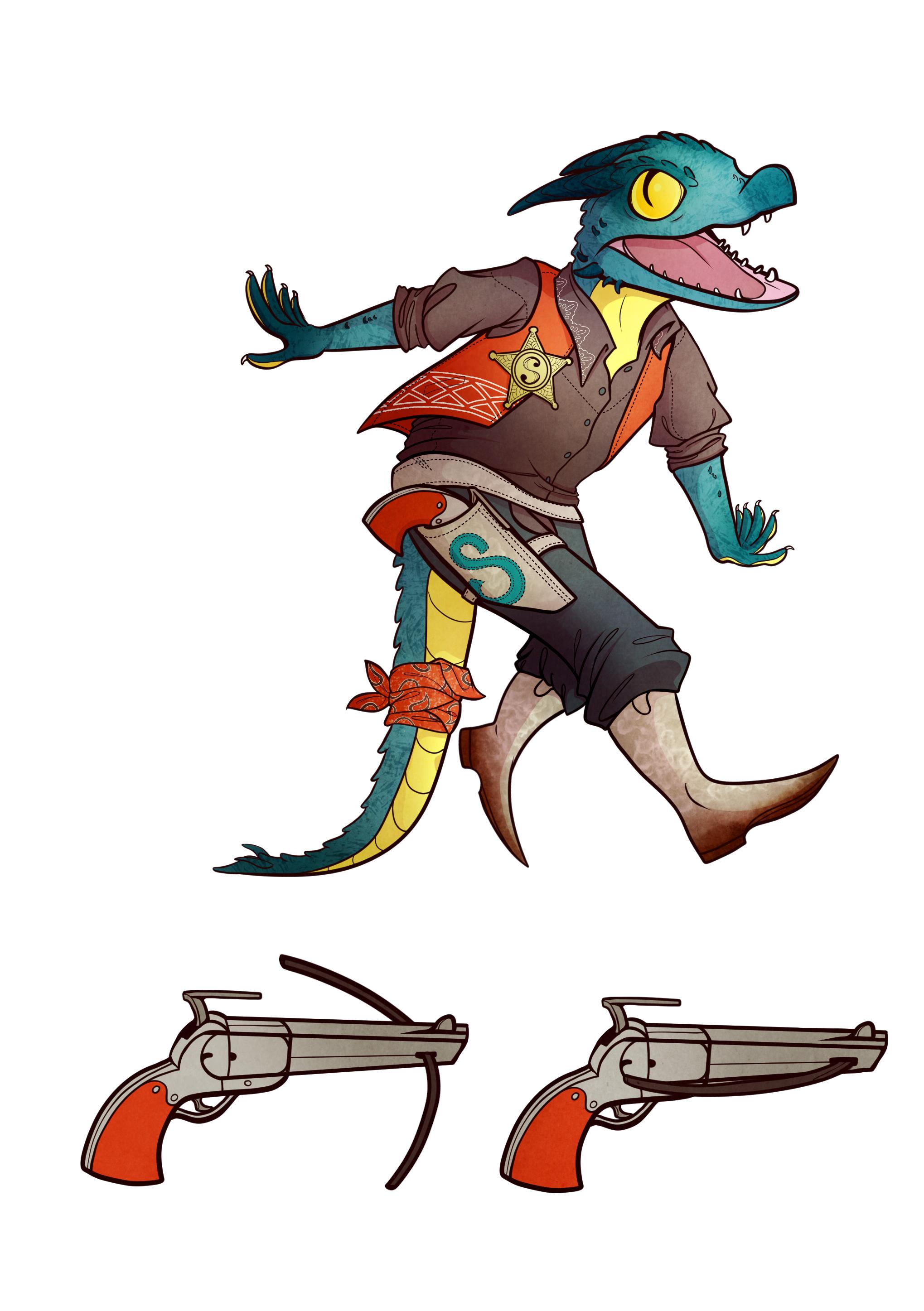 Scout :: D&D Character Design (2017)
