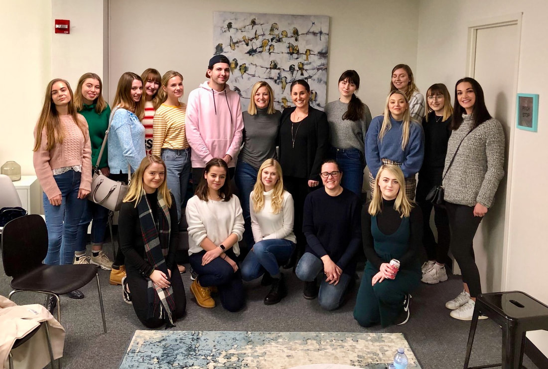 MARCH: Kite Hill PR Expands Internship Program & College Tour, Continues Guest Lecturing at Local NYC Colleges and Hosts Industry Roundtable for International Students
