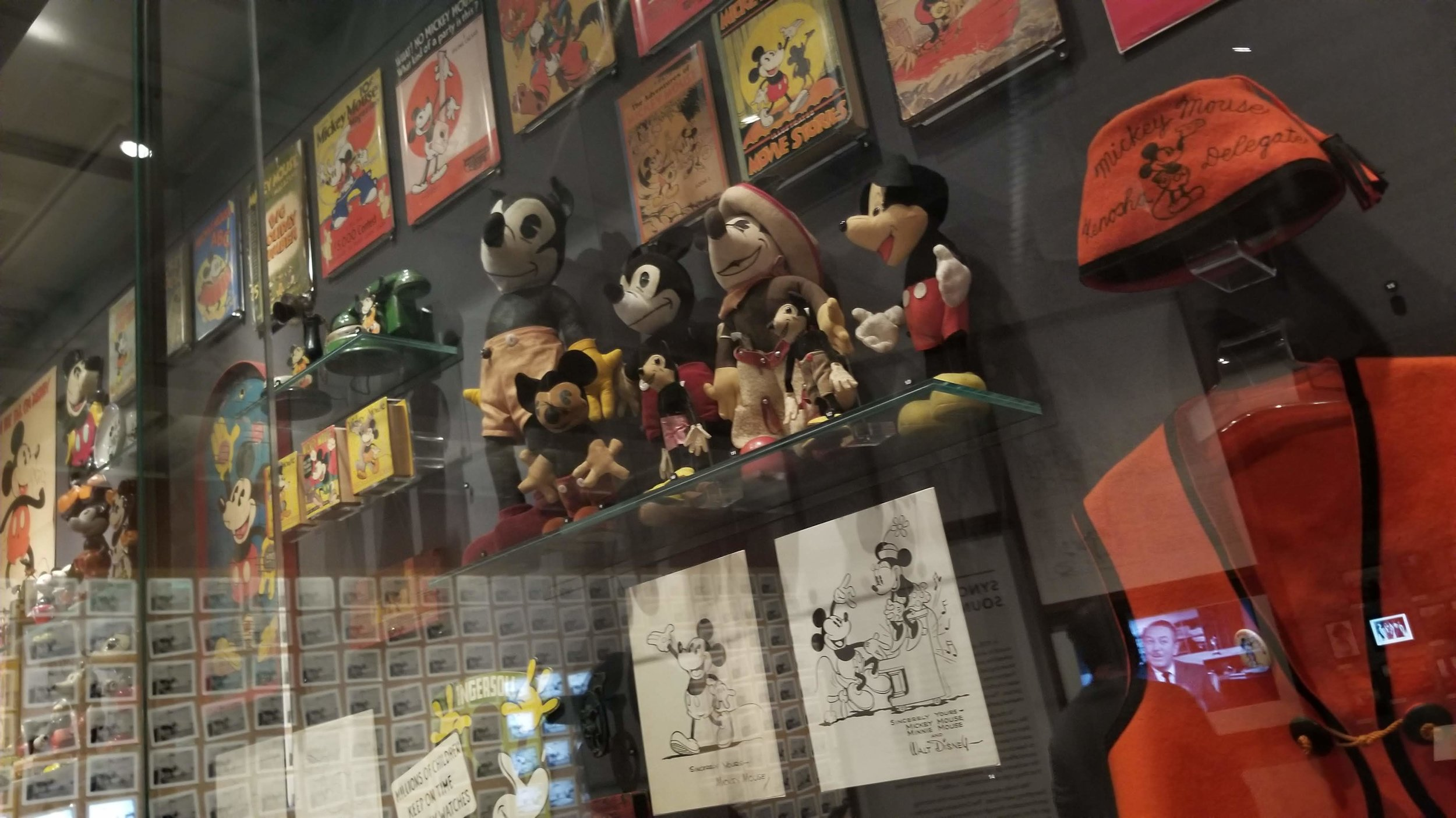 A drool worthy Mickey Mouse collection.