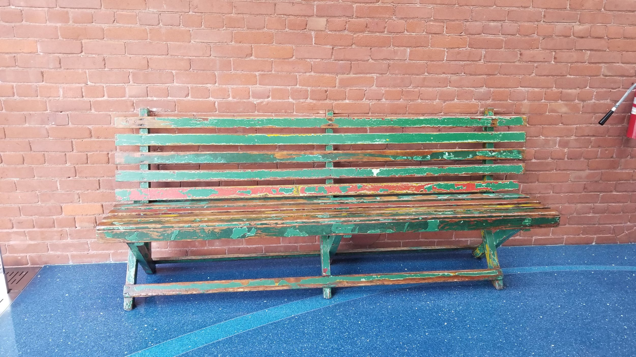 A bench from Griffith Park.
