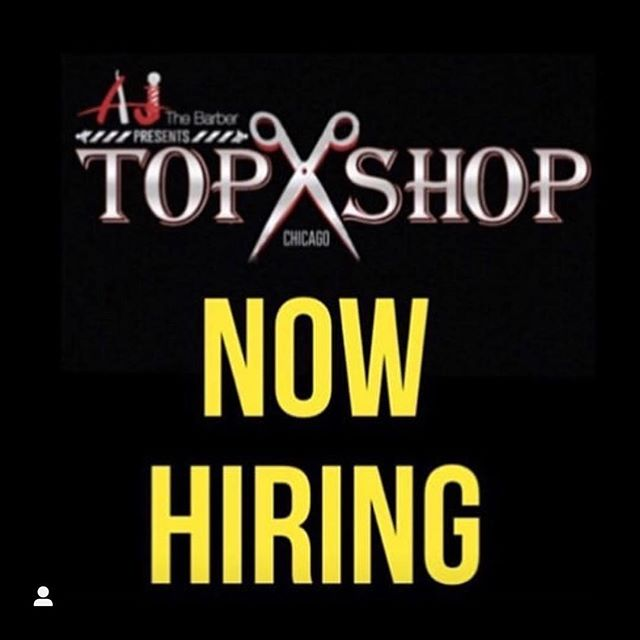 We are Hiring for a Barber/Stylist Full Time or Part Time. Very Busy Location Downtown Chicago Near UIC University. Direct Message Us for More Info!