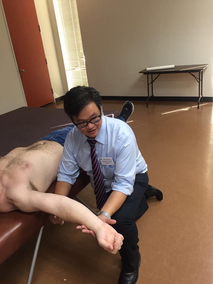 Dr. Clayton Shiu applied Taijiquan and Neurology to XingNaoKaiQiao to create Nanopuncture.