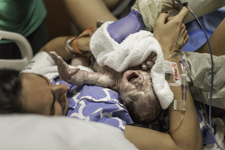 baby Everett | Birth session -