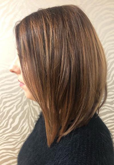 Hair Extensions in Short Hair, Joanne Hairdressing, Dorset