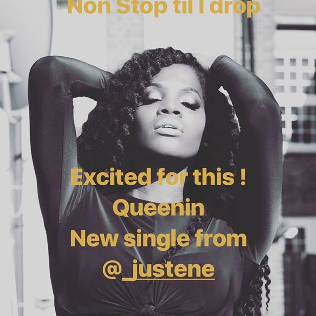 Non stop til I drop ! Super Talented Beautiful Nubian Goddess @_justene dropping new video 31.07.18 🔥🔥🔥