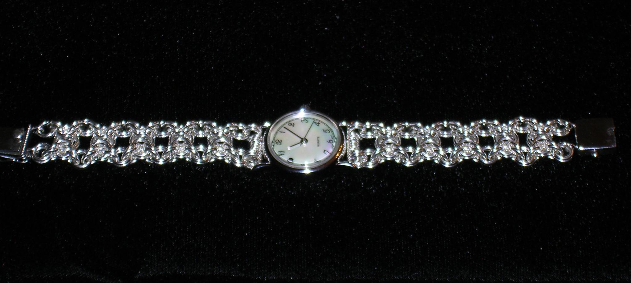 Olivia Weave watchband