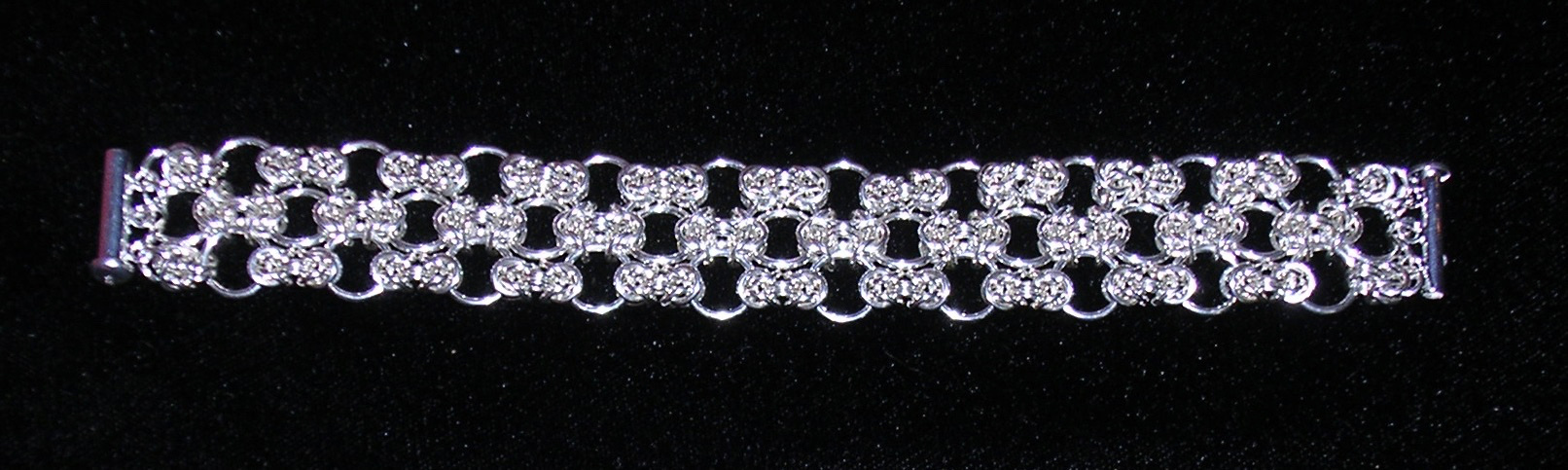 Narrow Byzantine Lace Bracelet