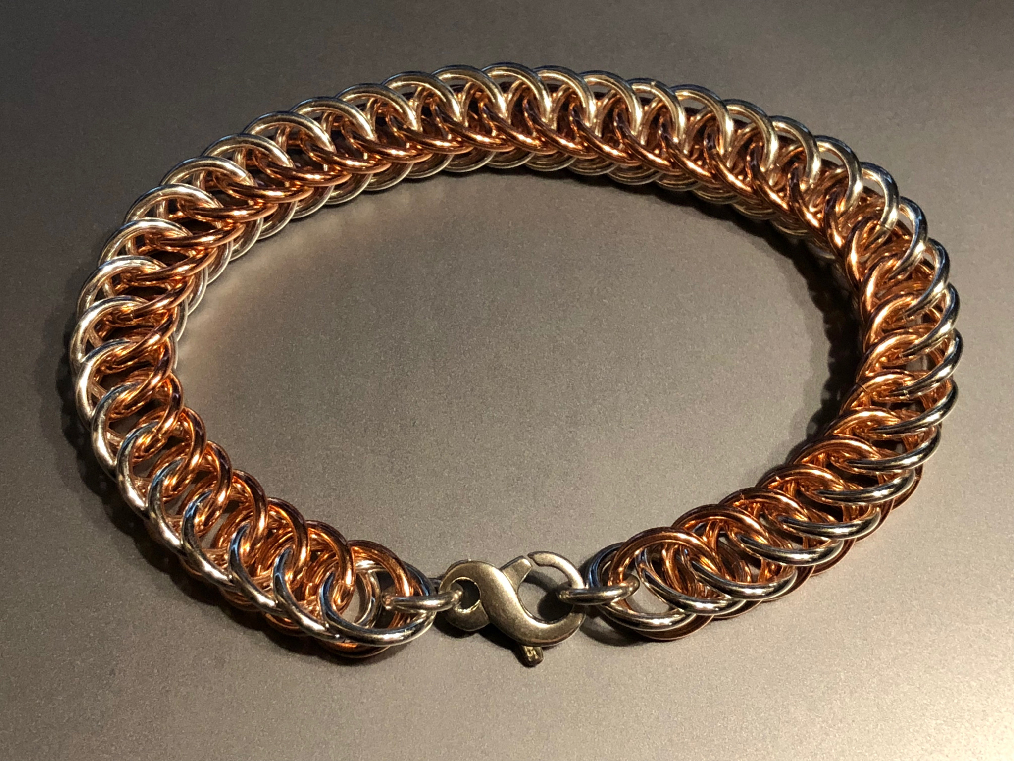 Half Persian 4 in 1 weave Bracelet