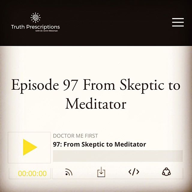 Meditation-curious but also super skeptical? So was @truthrxs, before she took our co-founder's online meditation course! We are so proud of @jillwenermd for being on @truthrxs's podcast for women docs again yesterday ❤️ They talk about her experience (and initial skepticism) with the course and the meditation, and of course they talked about @betransformd where Jill will be teaching her live course (registration ends Sunday 9/8, link to register in bio). We highly recommend @truthrxs's amazing podcast as a great resource for women docs, so go check it out now! #truthrxs #doctormefirst . . . . . #betransformd #meditationfordoctors #physicianburnout #physicianwellness #moralinjury #cme #meditationcourse #onlinemeditation #meditationonline #highperformancehabits #womeninmedicine #shemd #somedocs
