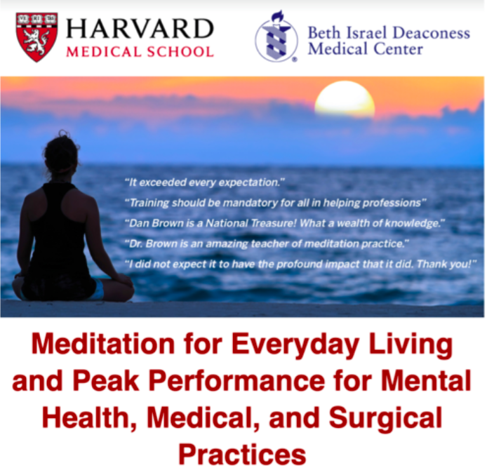 Harvard Meditation Conference - This intensive meditation conference was amazing and I am eager to share what I learned! Meditation is such an amazing tool for managing stress and building reslieincy.Stay tuned for pearls in upcoming blog posts.