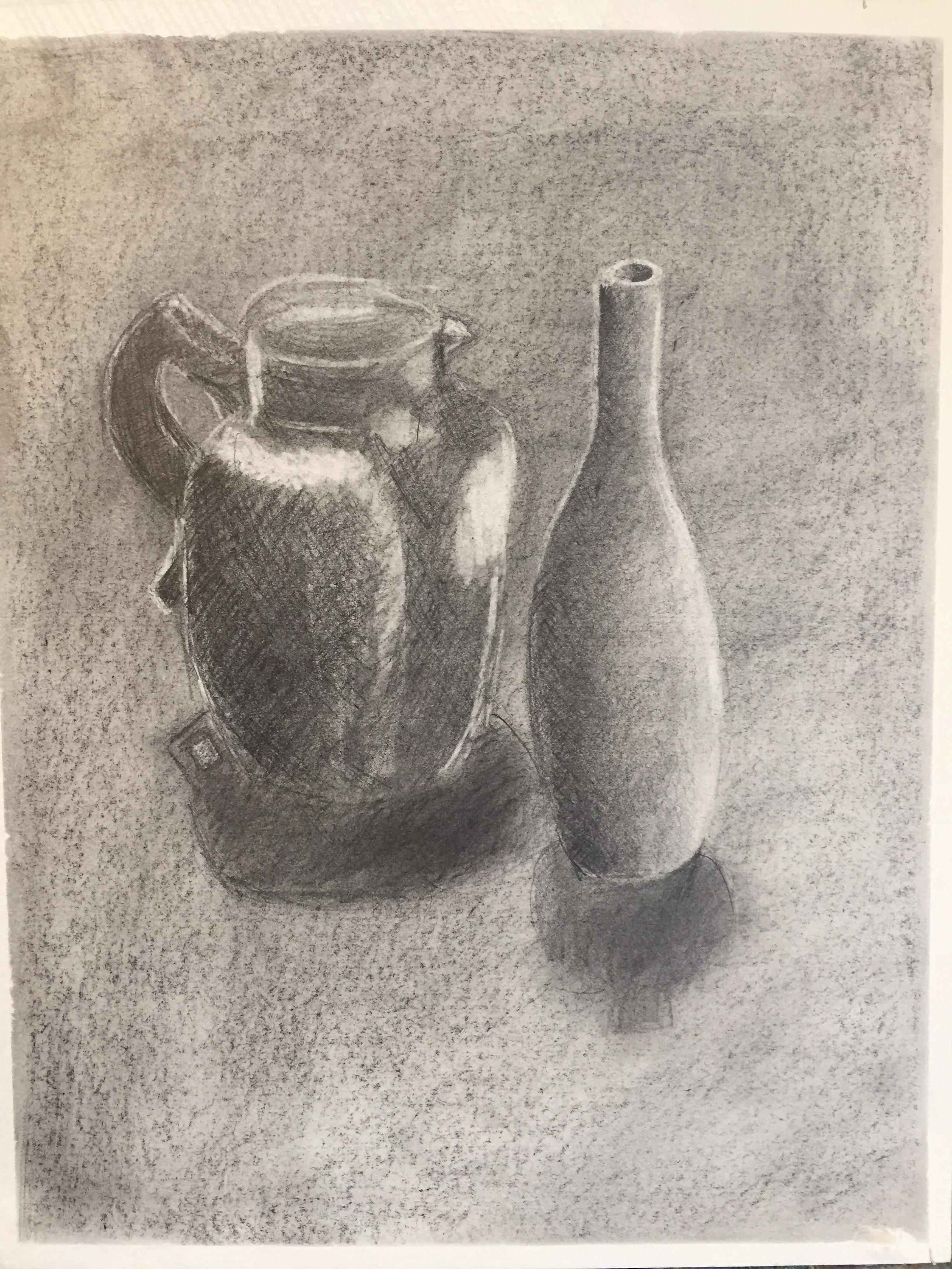 erase piece of jug and vase