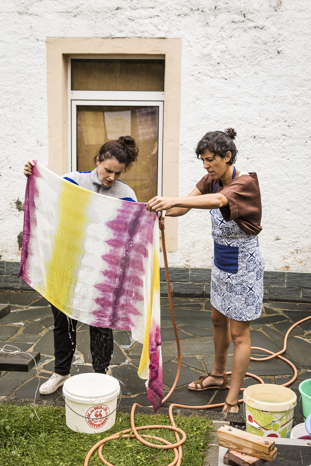 "Workshop ""Modernes Shibori"""