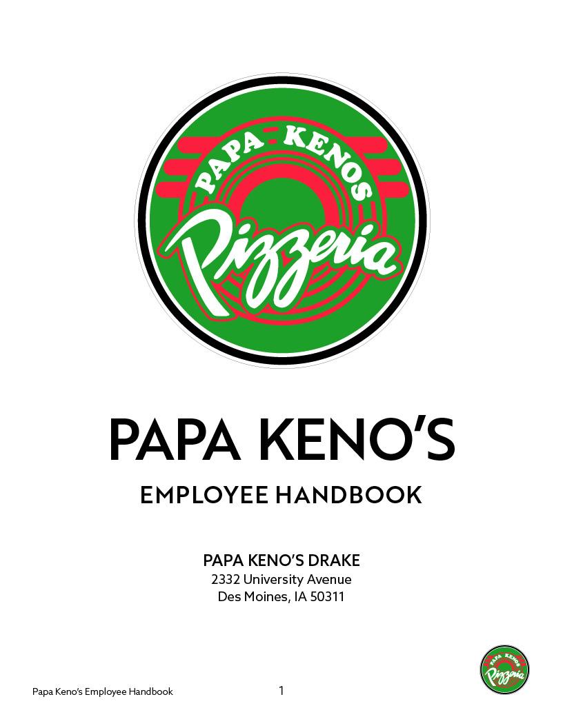 PAPA KENO'S EMPLOYEE HANDBOOK - Drake.jpg
