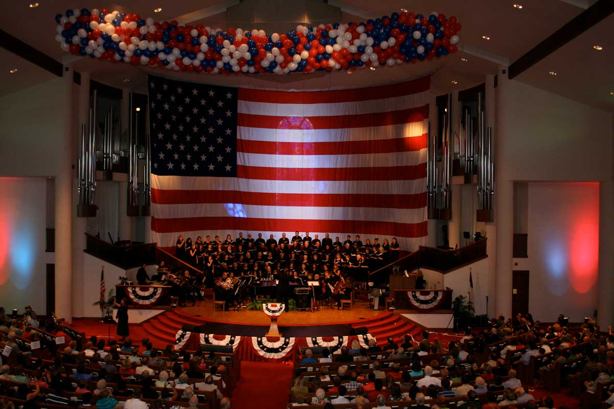 First Baptist Church 4th of July Service