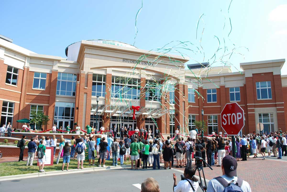 UNC Charlotte Grand Opening