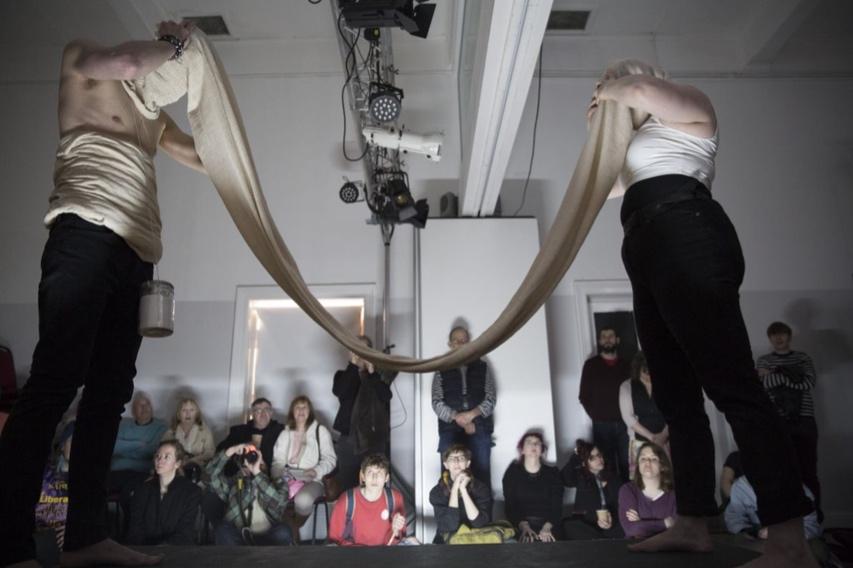 11. 'Fermented Ink'. Volume 1', perfromance, Buzzcut Performance Art Festival, 2015.jpg