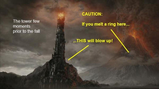 We know the tower, we know the volcano but...