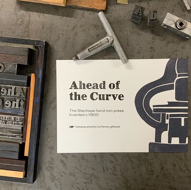 Any day now we will be going live with our #HOPE campaign on Kickstarter to restore a Stanhope press... our limited edition prints will be available as part of the rewards #letterpress #printingpress #stanhope #stanhopelinocut #metaltype #atotefullofhope #ffowndri