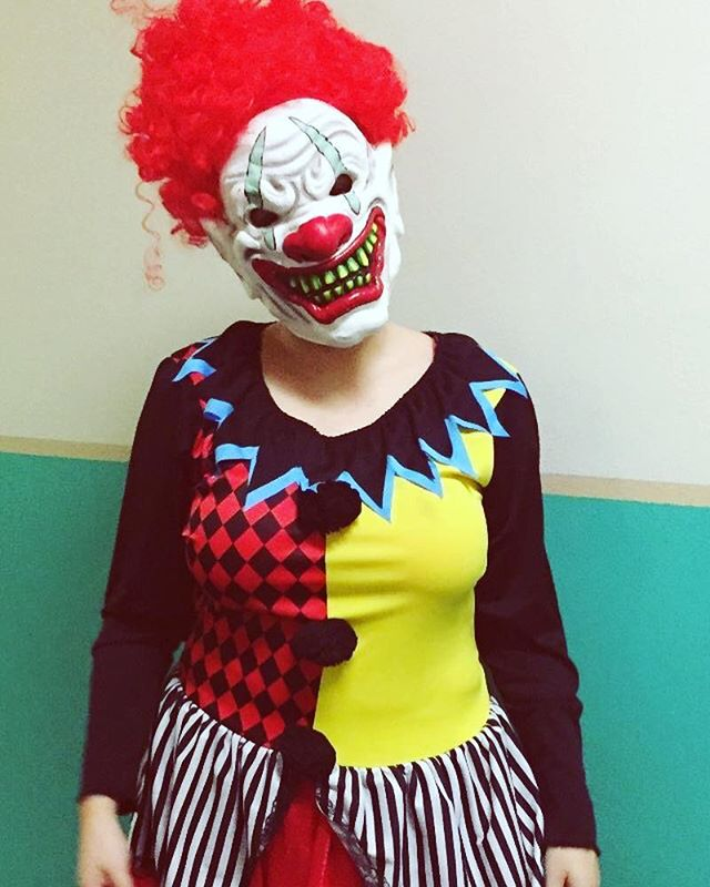 Just clownin around and curious to see what the Torment Factory team is planning #clown #gainesville #escaperoom #scary #event