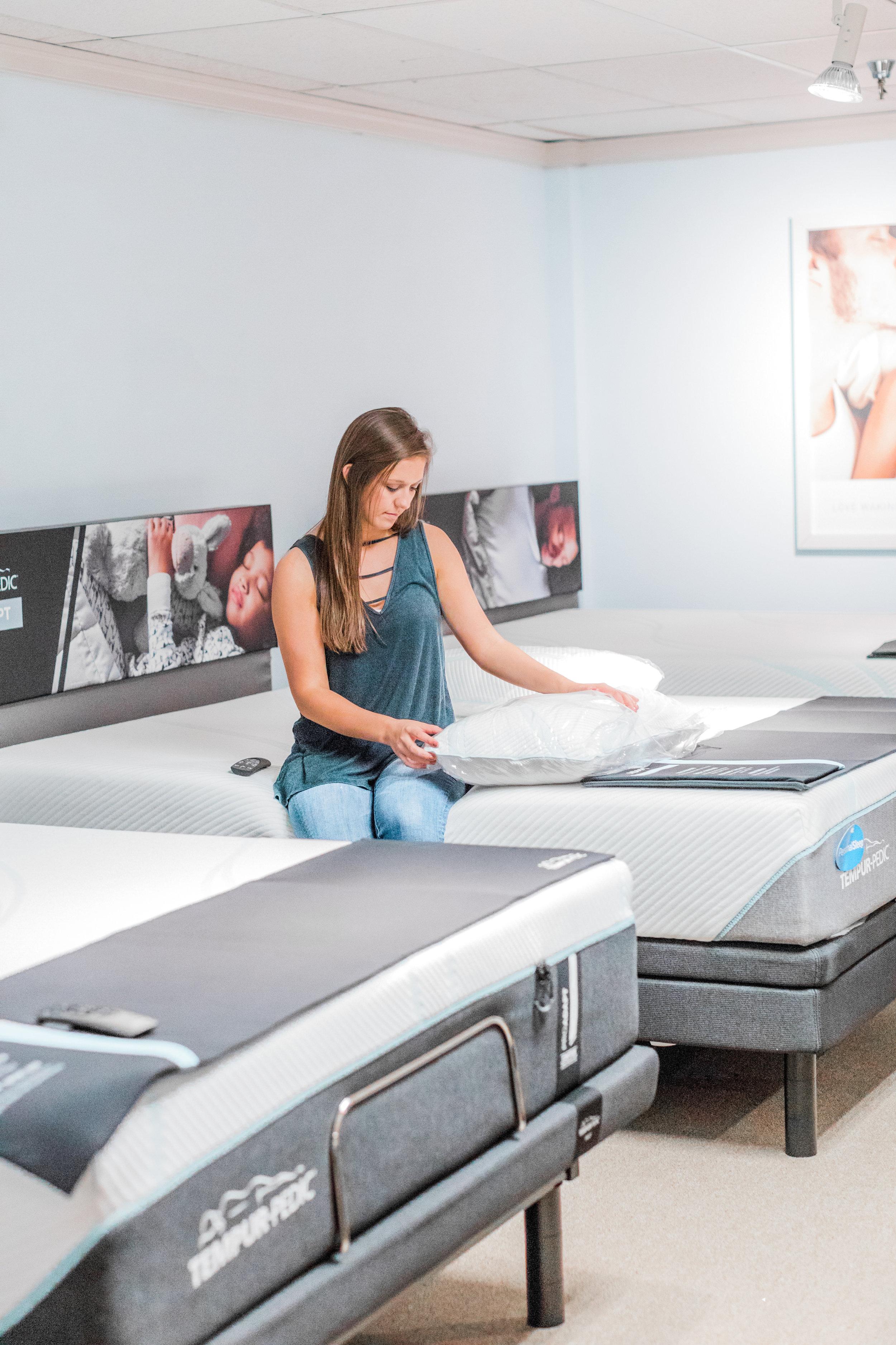 tempur-pedic mattress at wolf furniture