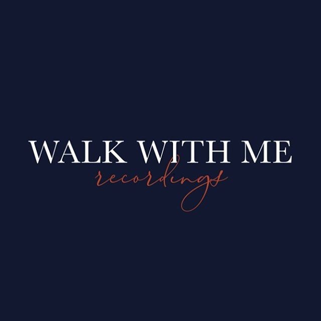 What do you guys think of our most recent logo design for Walk With Me Recordings? It's a timeless piece with a little personality flare 🔥 . . . #graphicdesign #logodesigner #logodesign #walkwithmerecordings #womenentrepreneurs #bossbabe #creative
