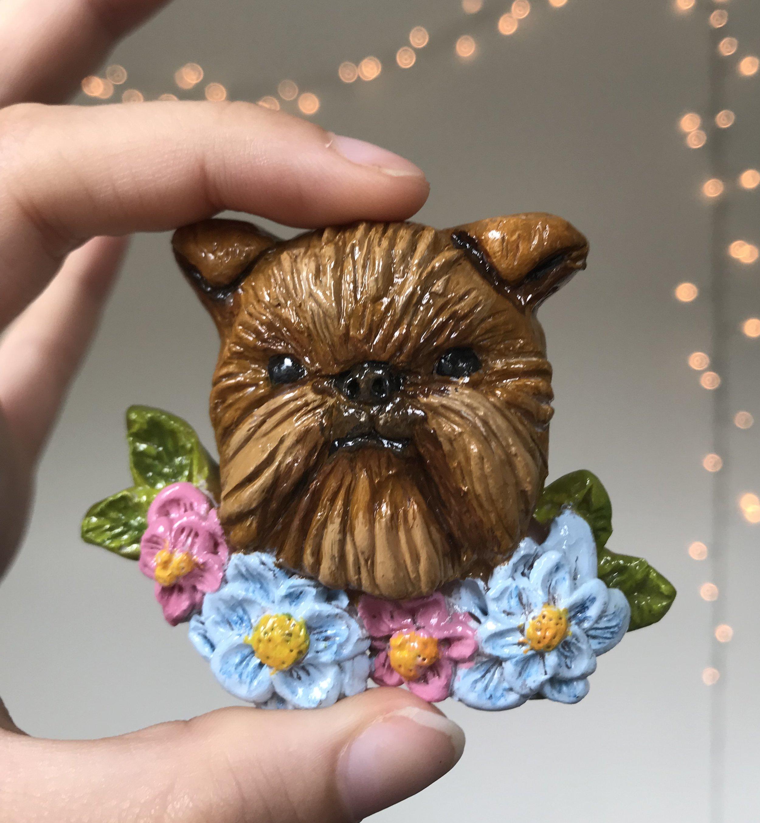 Brussels Griffon Dog Magnet