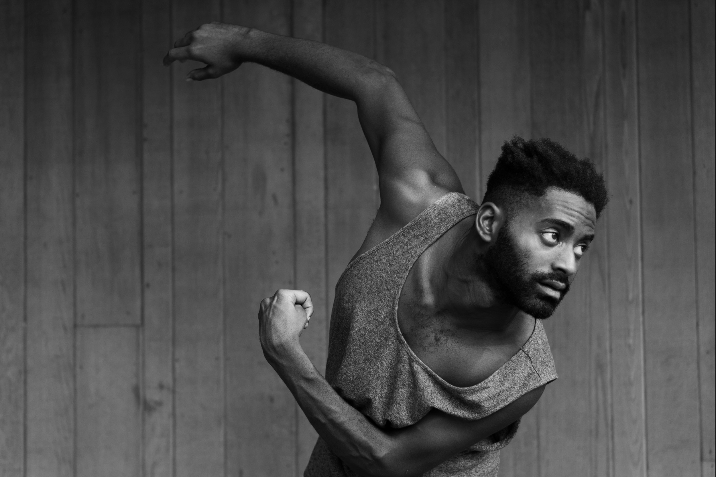 JERRON HERMAN - Jerron Herman is a Dancer and Administrator primarily for Heidi Latsky Dance where he's been a proud principal member since 2011. Jerron has been featured with the company at venues like Lincoln Center, American Dance Festival, and the Whitney Museum. Jerron currently sits on the Board of Trustees at Dance/USA and has sat on various symposium panels. He was featured most recently in a profile on dancing with Cerebral Palsy by Great Big Story. As a writer, he was named a finalist for the Inaugural Apothetae/Lark Play Development Lab Fellowship and continues to write theater and art criticism. As a model, Jerron shot a special campaign with Tommy Adaptive and Springible as well as an exploratory shoot for Nike Universal apparel. The New York Times has called him,