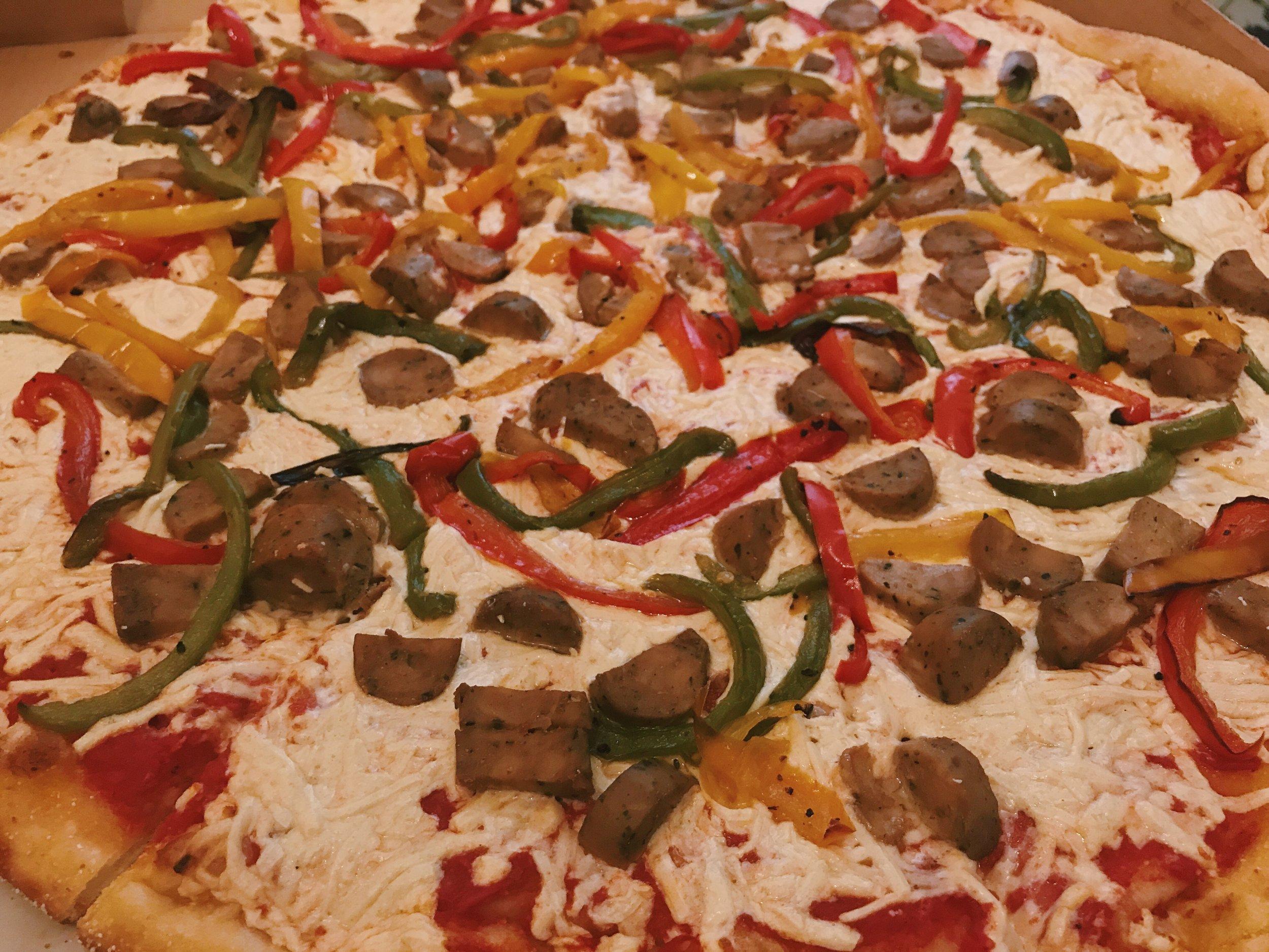 The Best Vegan Pizza in the Bronx Is Hidden in Throggs Neck -