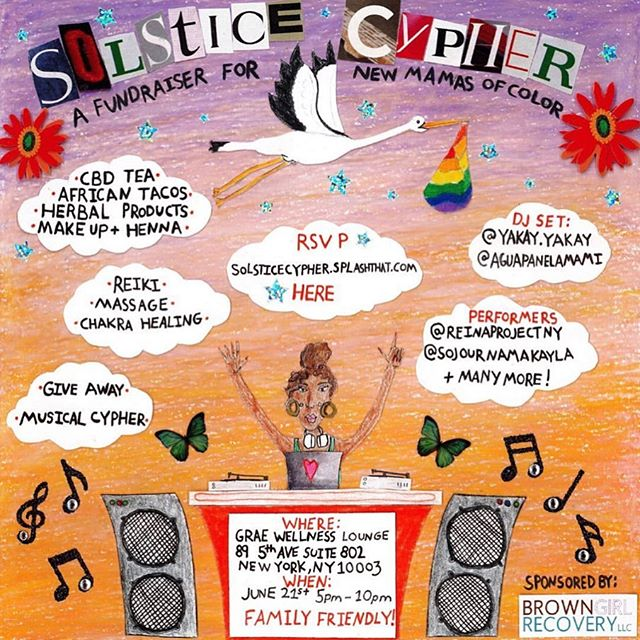🌿 HAPPENING NOW 🌿 I'm so happy to sponsor two vegan items for Soltice Cypher that you can win in their raffles. One prize is one free pie from @pizzagusta and the other is a coupon for a tray of cookies or cupcakes from @h3avenlyvegan! There's so much more happening at this event that I know you will love. Plus, proceeds go towards helping two new Mamas of Color! Please go support this incredible event organized by @soul.serpent at @graewellnesslounge! 🌿 🌿 🌿 🌿 🌿 🌿 #thebronxvegan #thebronx #vegan #vegansofthebronx #veganraffle #vegannyc #veganpizza #vegancupcakes