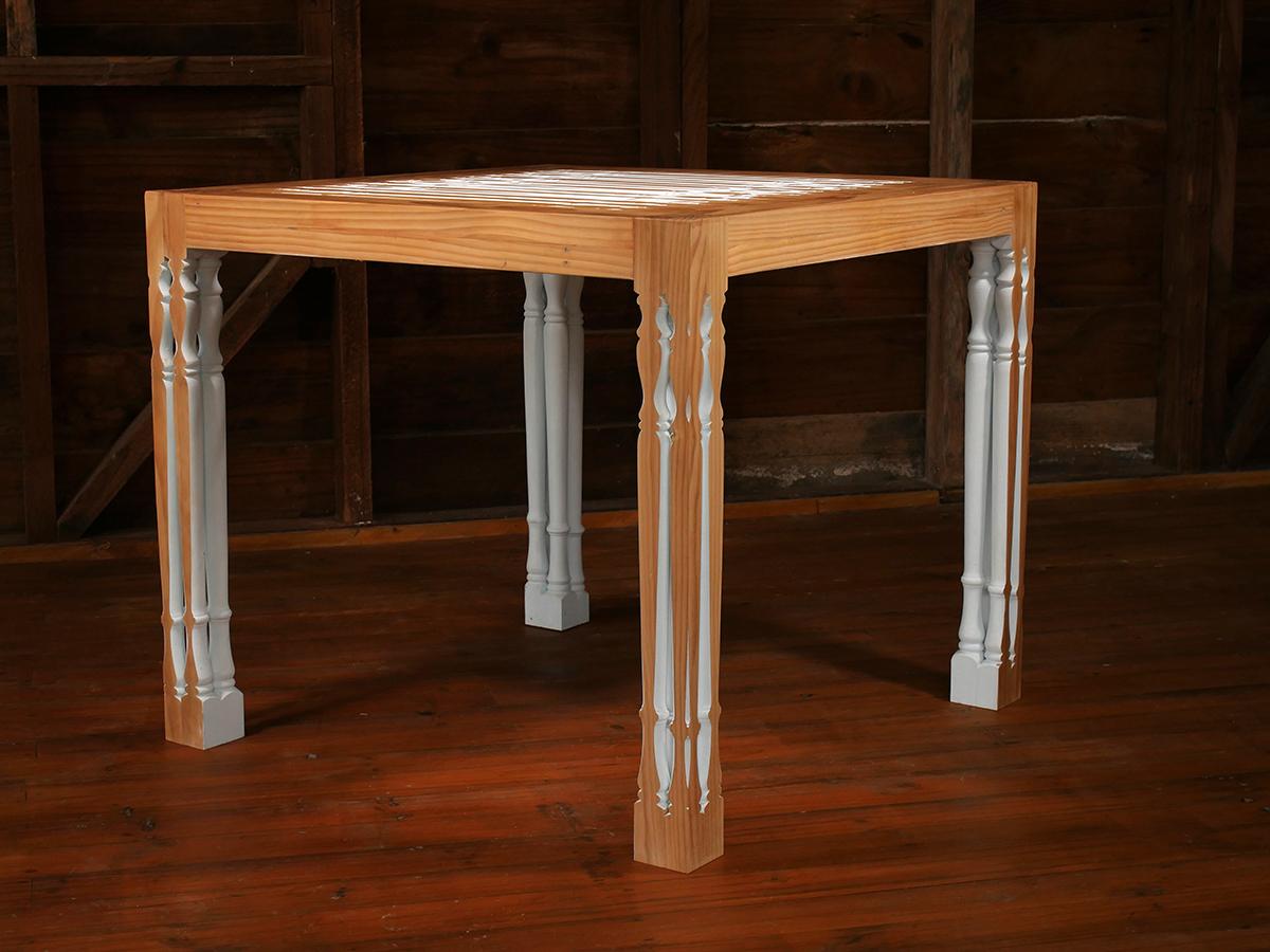 Balustrade Table