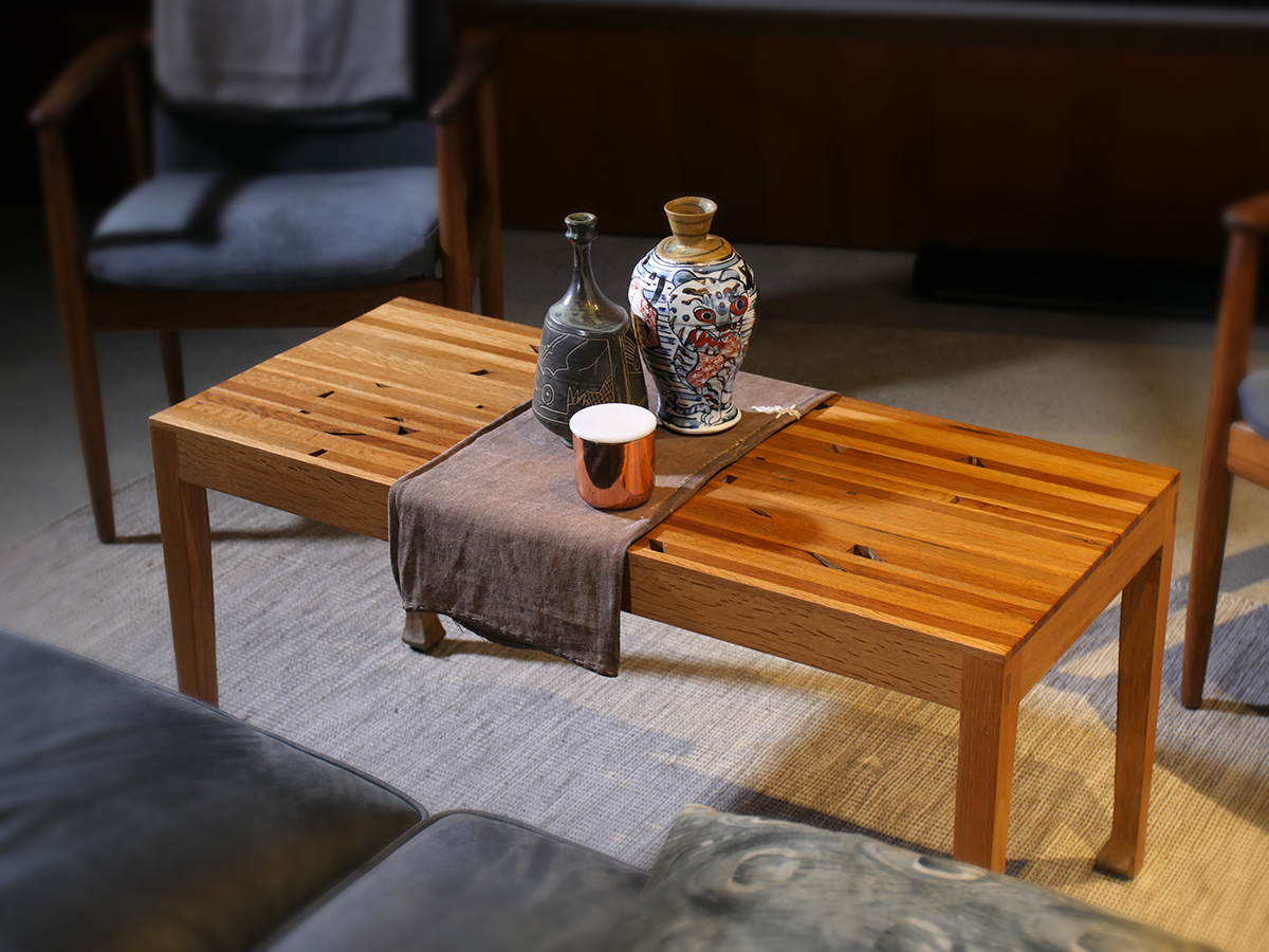Oak Coffee Table Reconstructed
