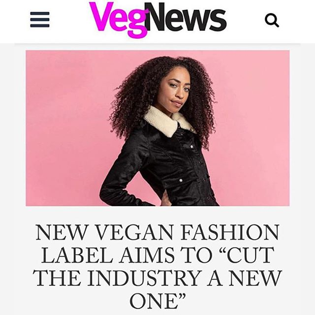 "@VegNews Magazine just featured Legends & Vibes and our @Kickstarter campaign! ⁣ ⁣ ""Legends & Vibes intends to revolutionize the fashion industry by showing that cruelty-free and sustainable materials are the way of the future.""⁣ ⁣ Just FIVE more days to support our campaign on Kickstarter:⁣ LegendsAndVibes.com/Kick⁣ #VeganFashionIsTheFuture #LegendsAndVibes"