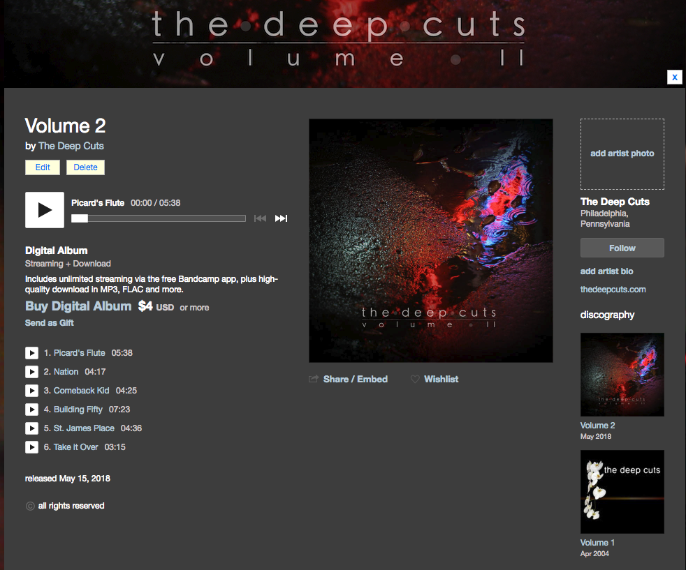 our bandcamp.com page