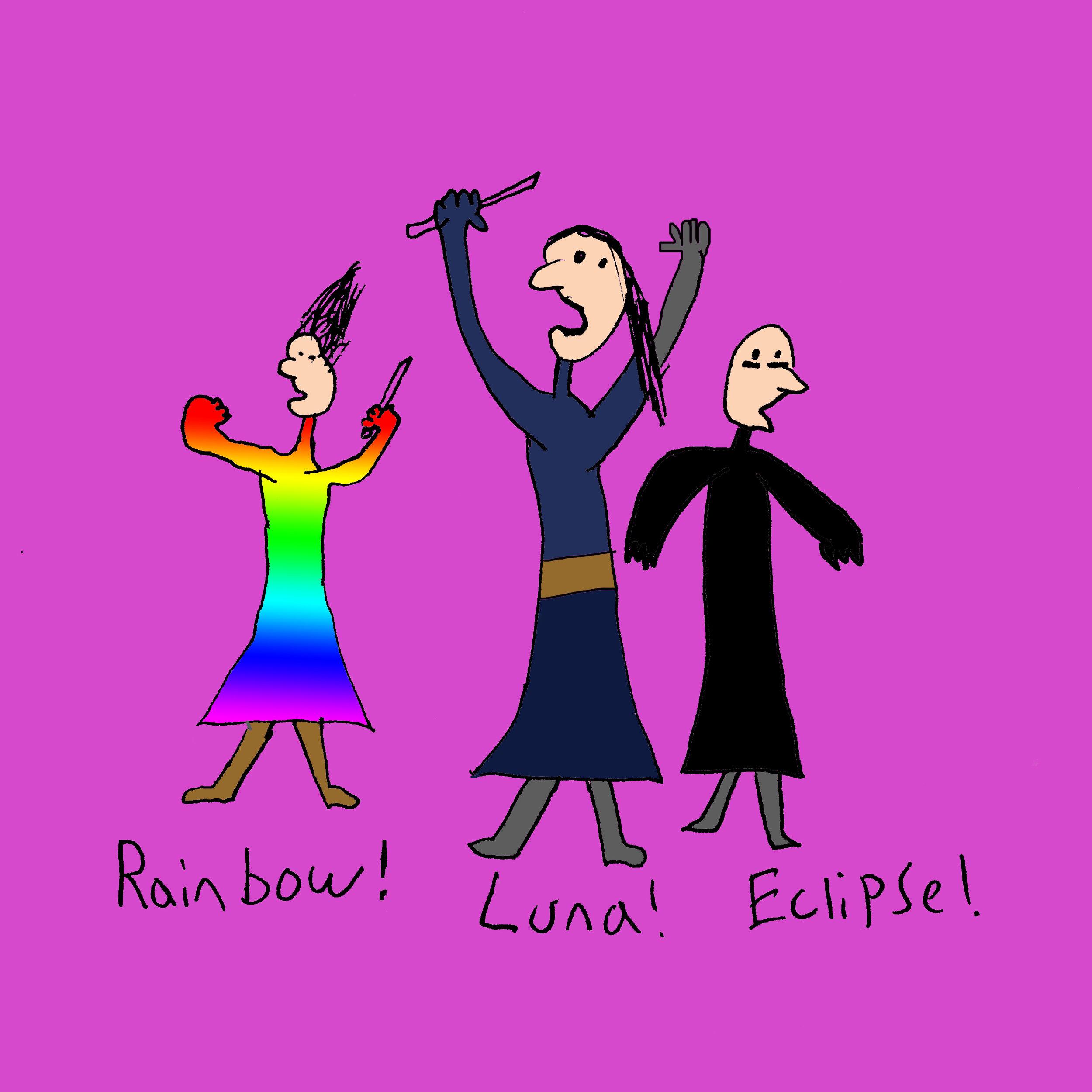 Luna Lovegood's identical twin sons